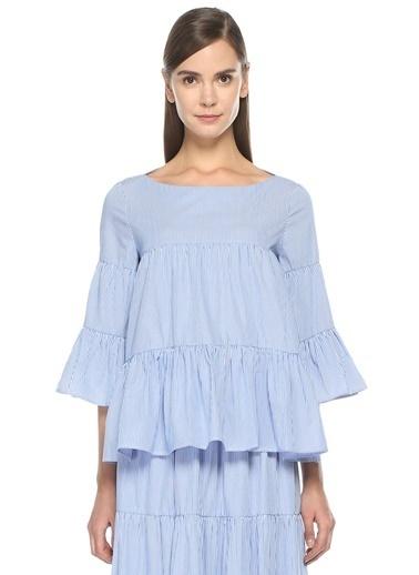 Parosh Bluz Mavi